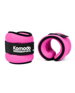 Pink Neoprene Ankle Weights